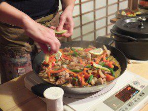 cooking with Rietta in Kamakura