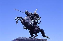 最上義光騎馬像