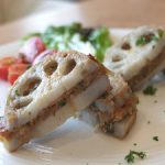 lotus root sandwich
