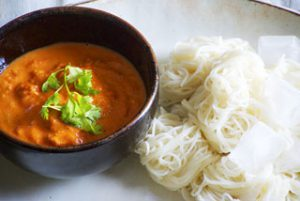 bisque noodle soup