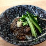 zha jiang mian with Iwate pork